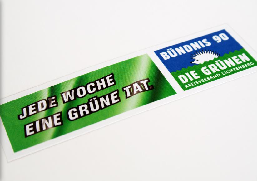 buendnis-90_die-gruenen_berlin-lichtenberg_1_wahlkampagne_gruene-tat_pressemappe_aufkleber